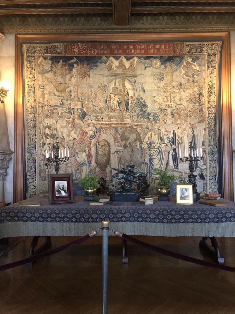 tapestry gallery, biltmore mansion