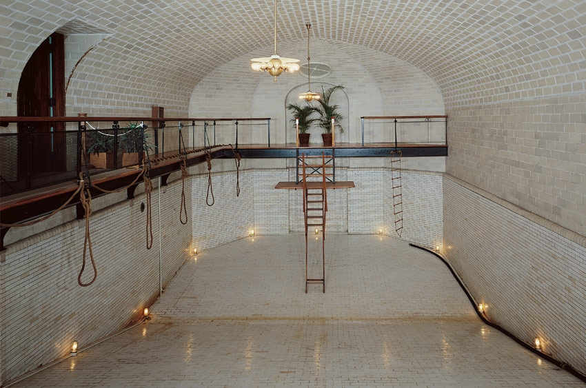 swimming pool, biltmore mansion