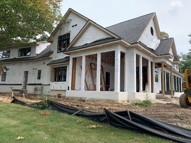 Lake House in progress