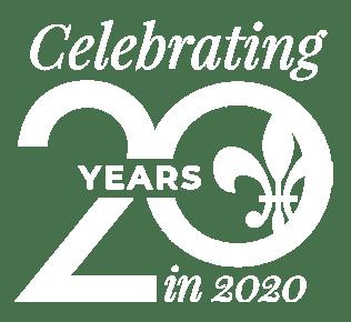 Celebrating 20 years in 2020